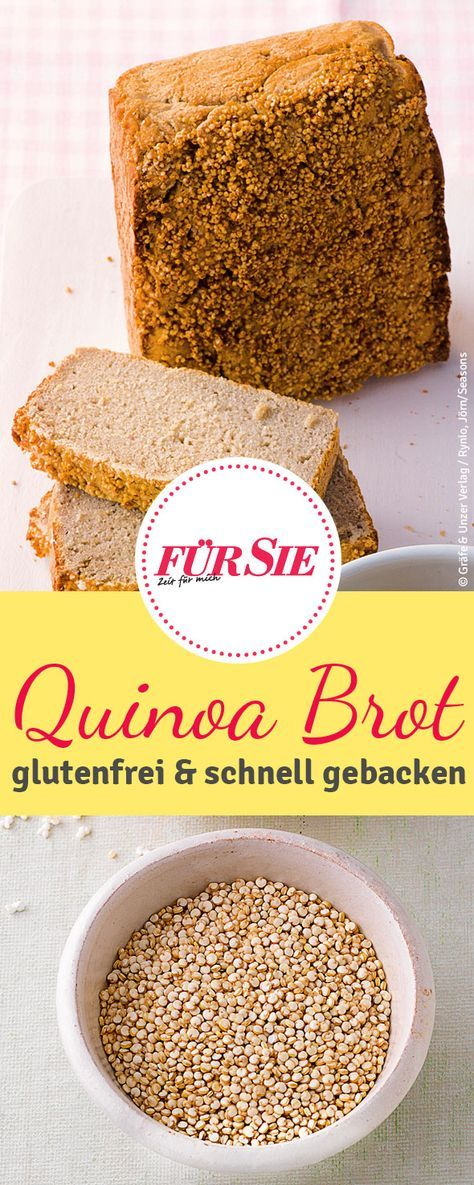 Photo of Recipe for gluten free quinoa bread