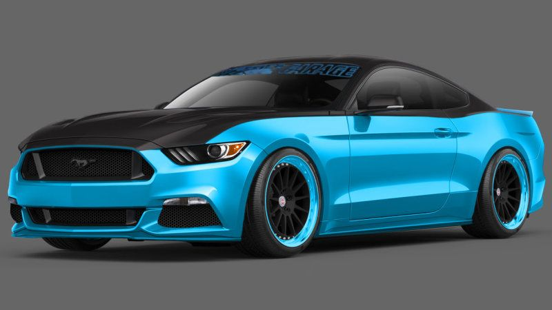 Ford Petty S Garage To Build Limited Edition Mustang Gt From Sema