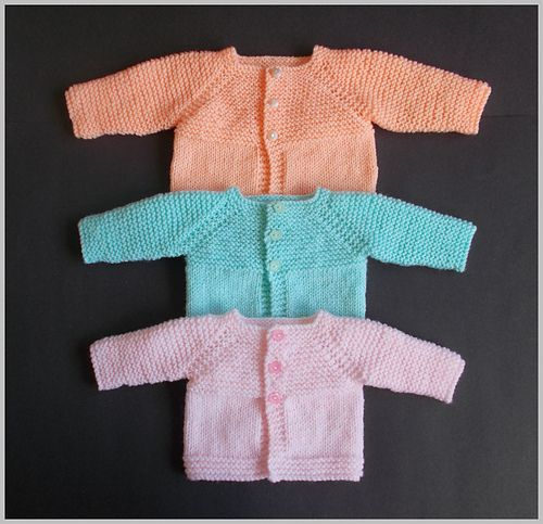 Little Babbity - Preemie Baby Cardigan Jacket pattern by marianna ... 574eaf6d7105