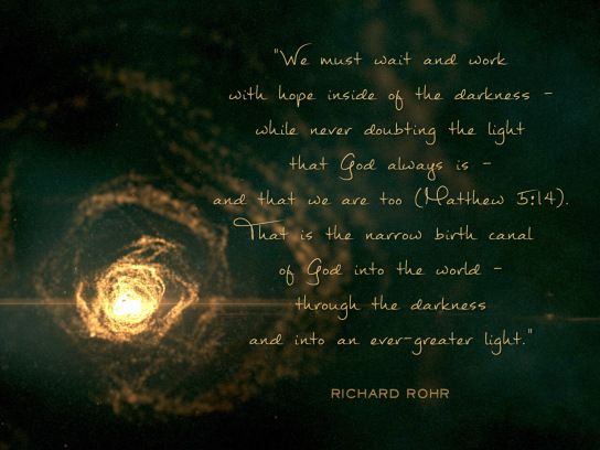 Excerpt From Preparing For Christmas Daily Meditations For Advent By Richard Rohr Richard Rohr Quotes Daily Meditation Contemplative Prayer