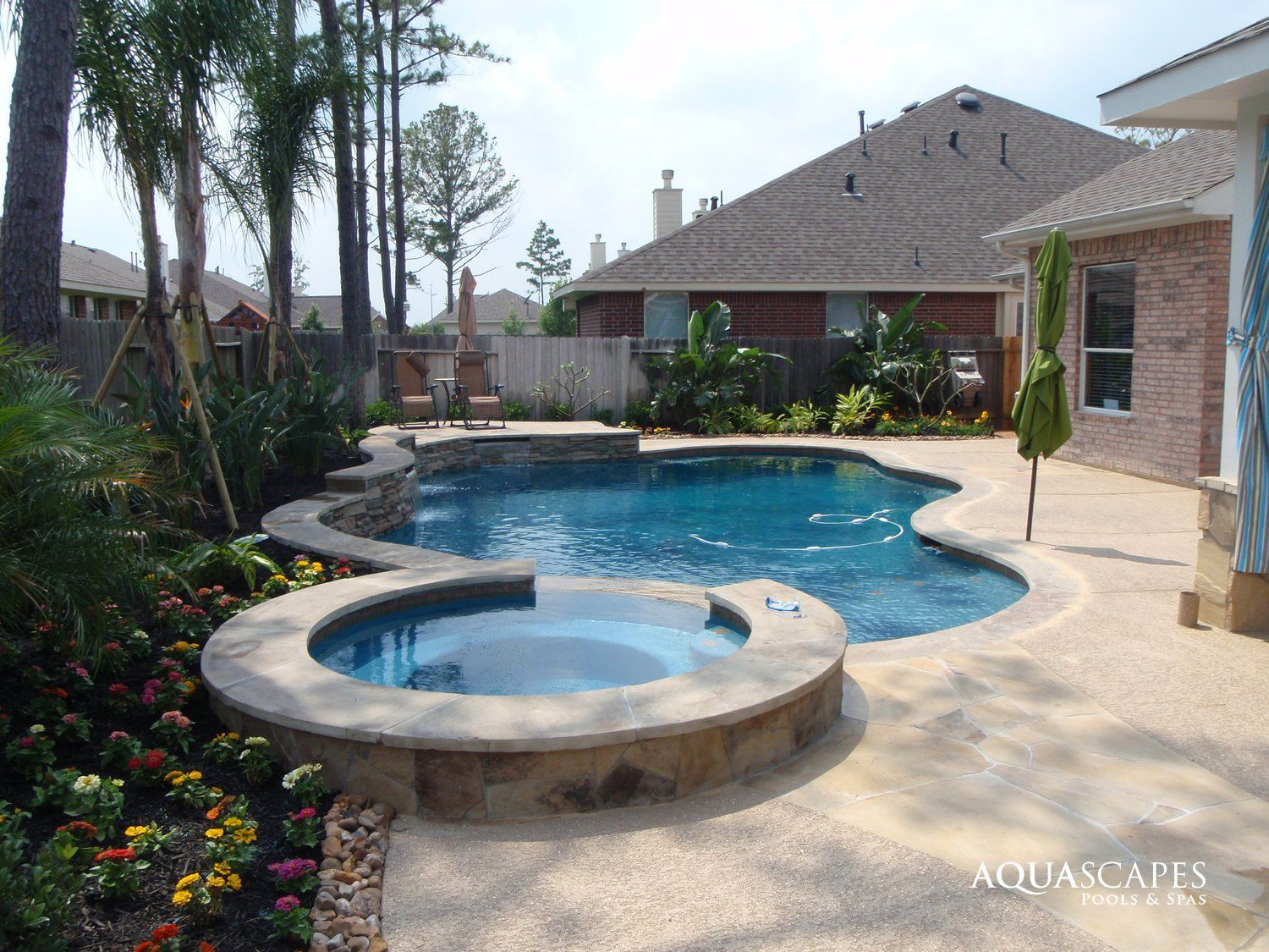 Freeform PoolFreeform Pool #066 By Aquascapes Pools And SpasSharePhoto By Aquascapes  Pools And Spasu003c