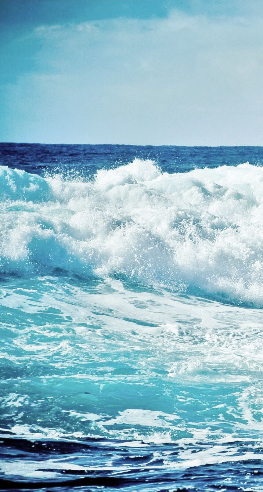 Ocean Waves Iphone Wallpaper Waves Ocean Scenes Ocean
