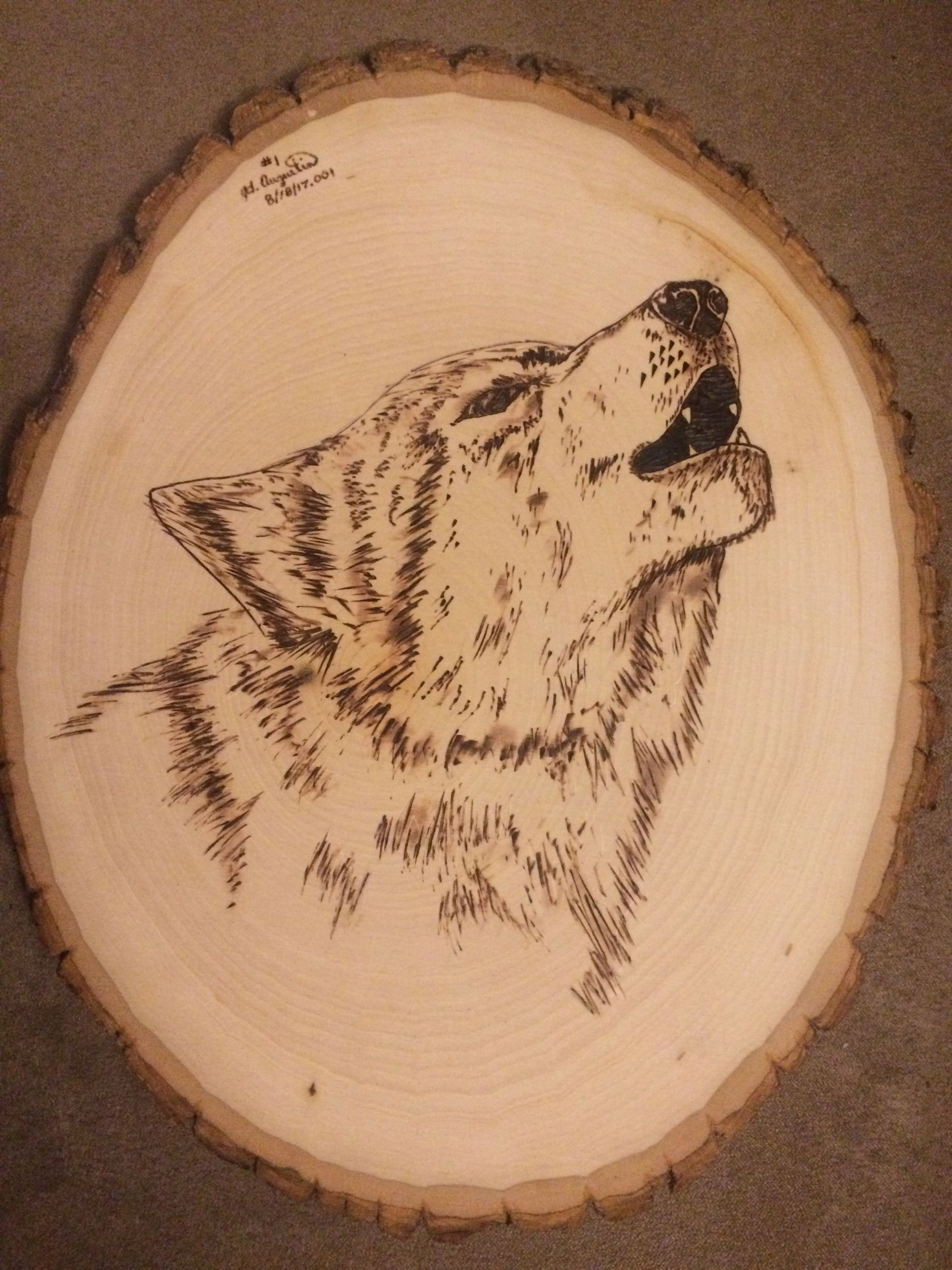 Wolf Wood Burn Done By Hand Wood Burning Stencils Wood Burning Patterns Stencil Wood Burning Patterns
