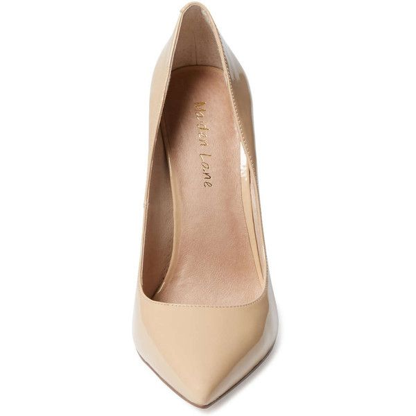 1acbdb1a2a Maiden Lane Huxley Pointed-Toe Pump ( 59) ❤ liked on Polyvore featuring  shoes