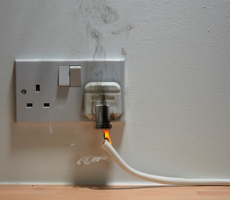 Help Prevent Common Household Fires Electricity Fire Prevention