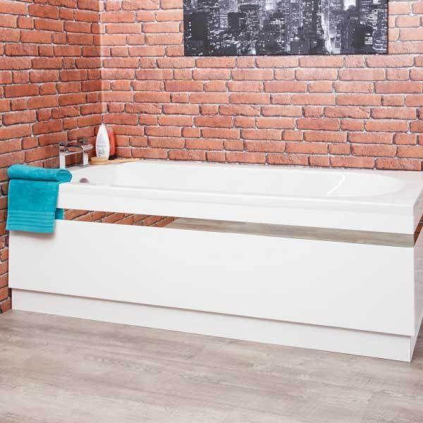 Pirofile In Ceramica.Ceramica Profile White Bath Side Panel 1700mm In 2019