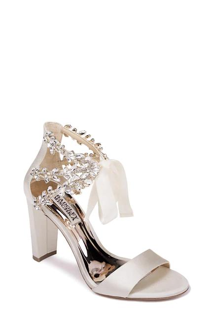 Everafter Embellished Block Heel