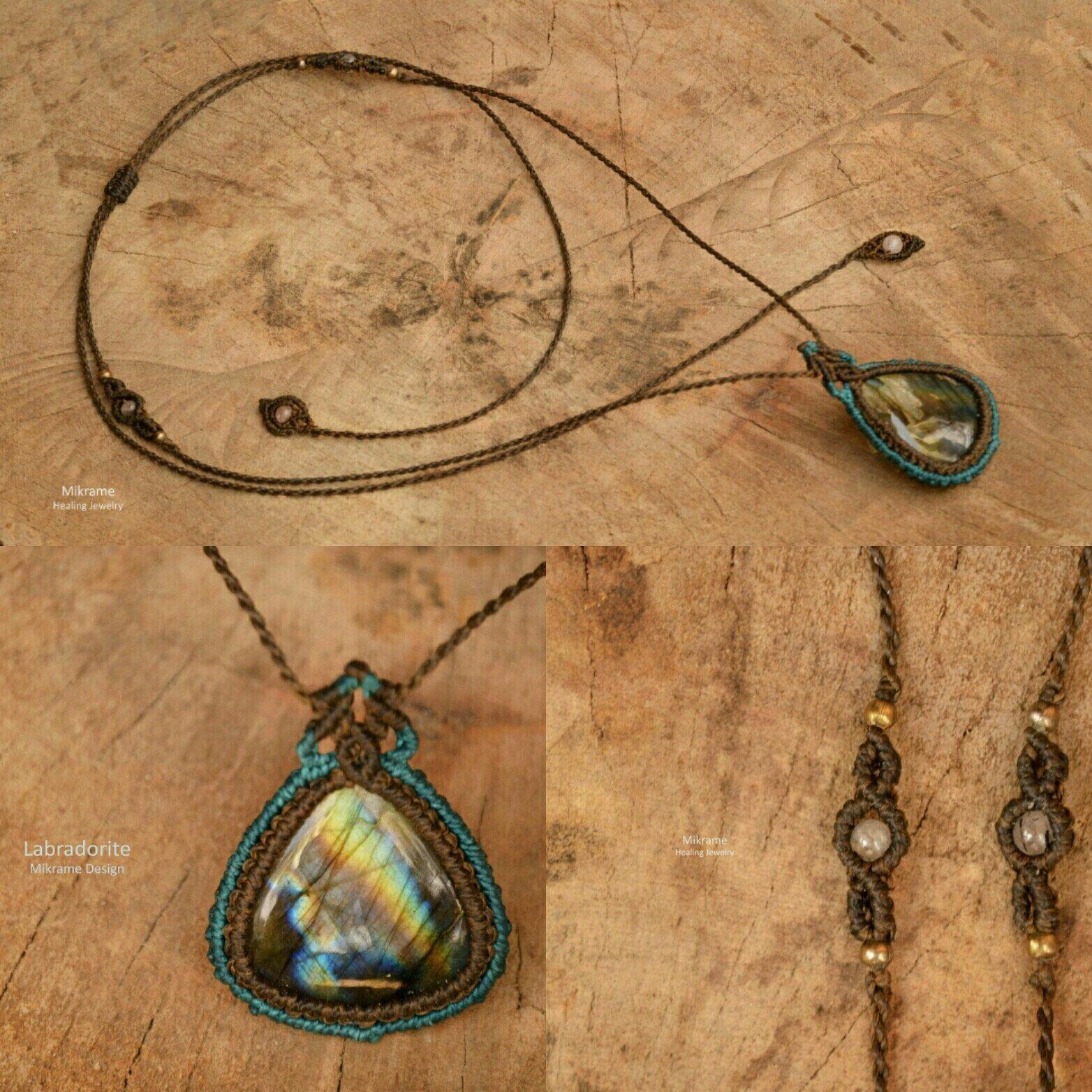 Chevron Necklace,Choker Necklace,Macrame Necklace,Layering Necklace,Macrame Jewelry,Gemstone Choker,Birthstone,Quartz Pendant,Minimalist