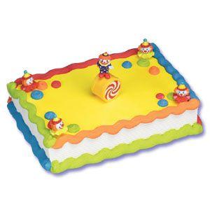 clown cake carnival Pinterest Clown cake Cake decorating