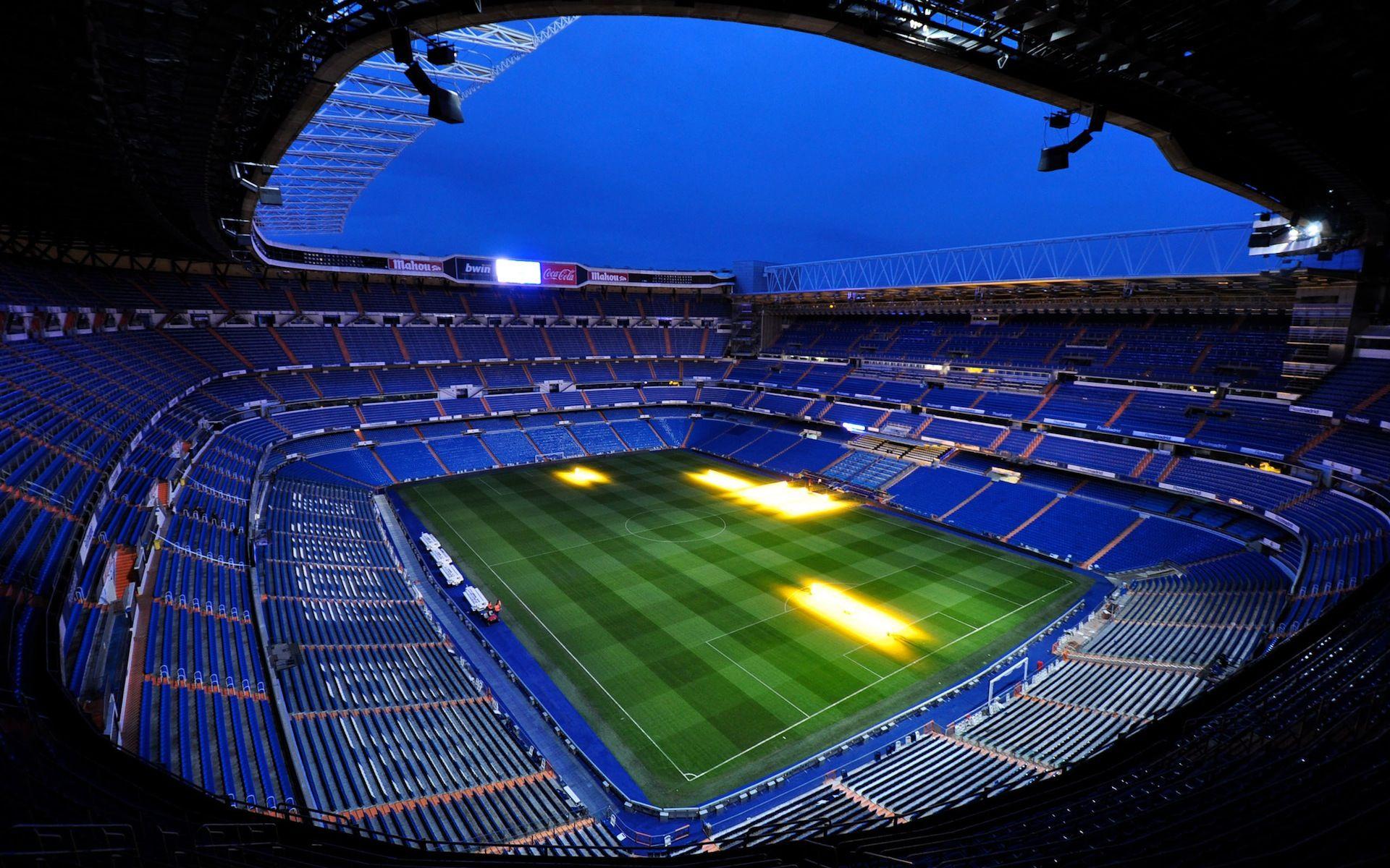 Santiago Bernabeu Real Madrid Stadium Hd Wallpaper Real Madrid Wallpapers Madrid Wallpaper Real Madrid Logo Wallpapers