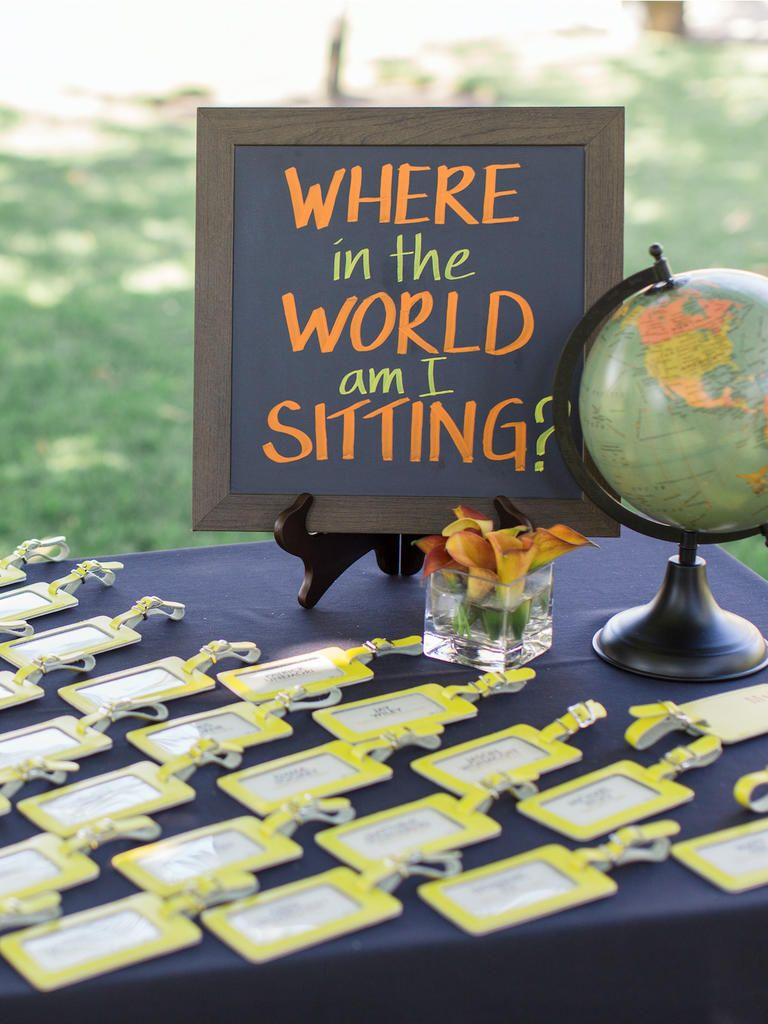 15 Creative Ideas For A Travel Themed Wedding Travel Theme Wedding Wedding Table Themes Travel Inspired Wedding