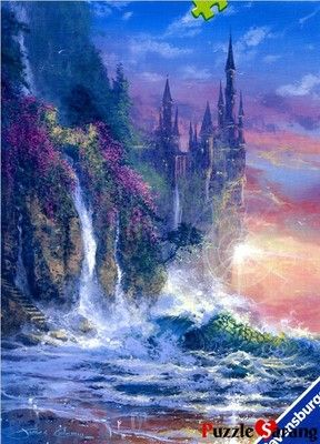 Jigsaw Puzzles 1500 Pieces Castle Of Coast Ravensburger Ebay