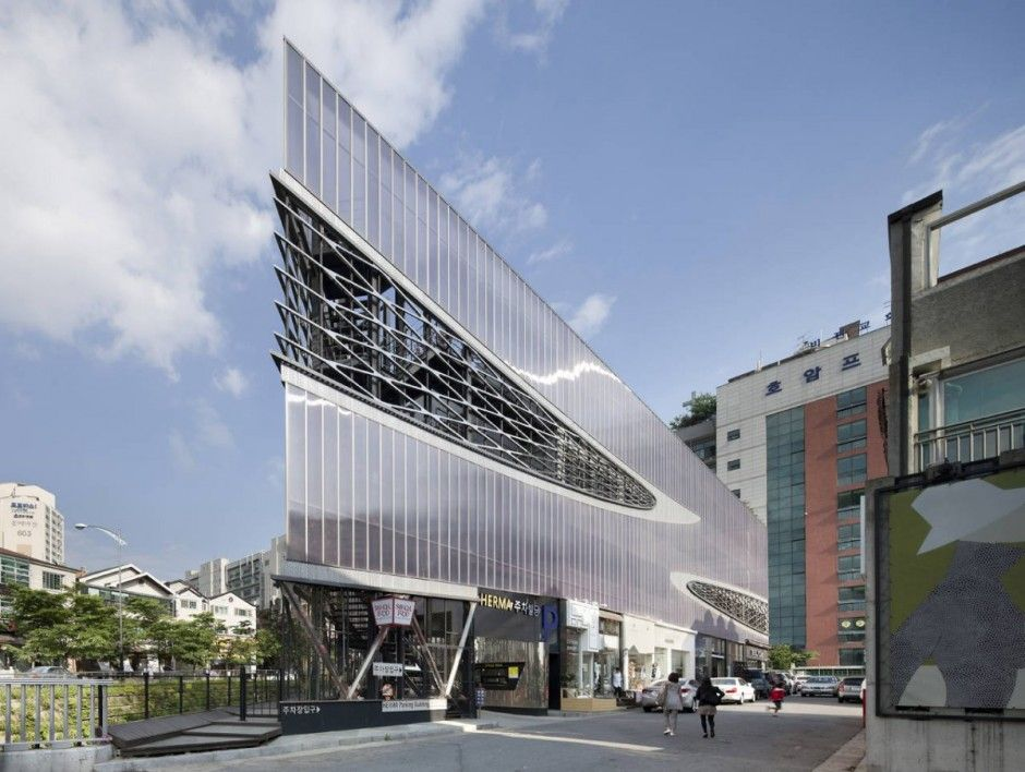 Herma Parking Building by JOHO Architecture   parking   Pinterest ...