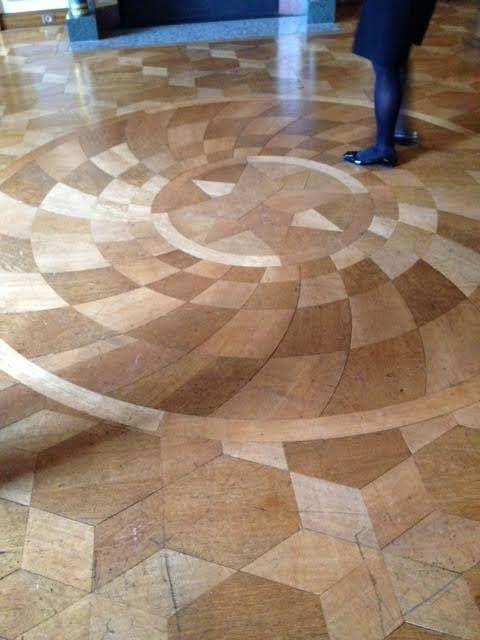 pattern flooring   German Embassy   Paris