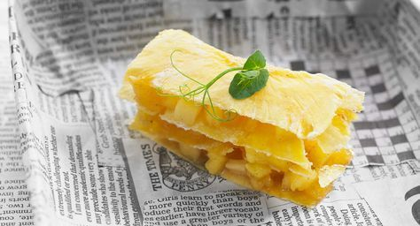 Millefeuille d'ananas