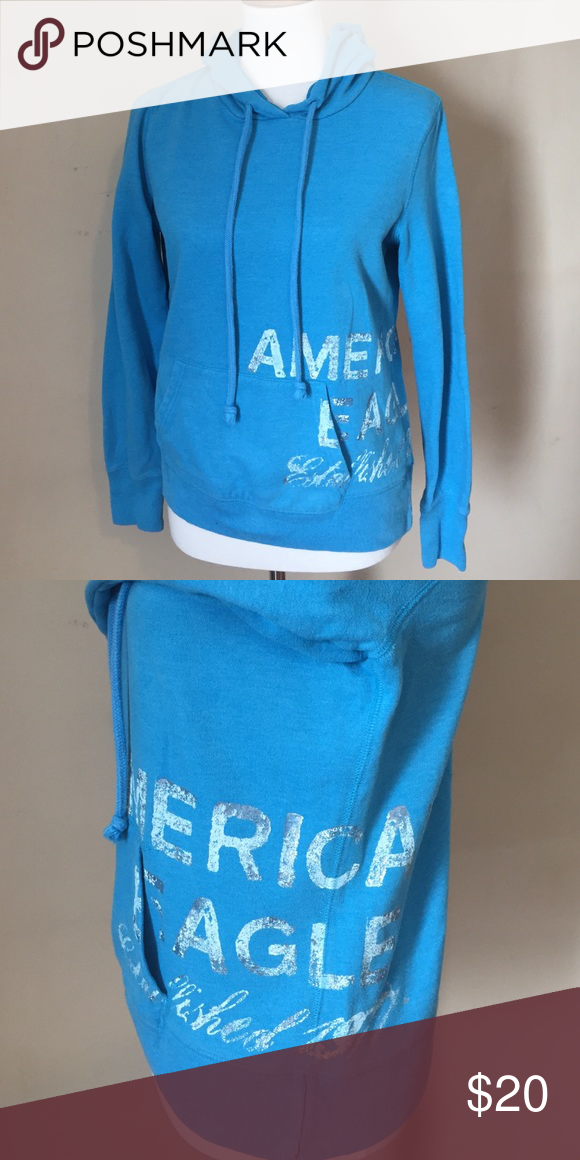 AE hoodie Very pretty color. Great condition. Smoke free home. American Eagle Outfitters Tops Sweatshirts & Hoodies