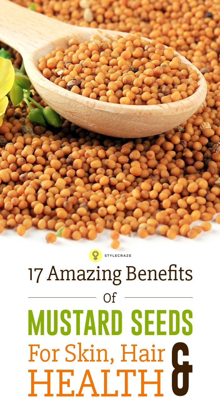 17 Amazing Benefits Of Mustard Seeds For Skin, Hair & Health