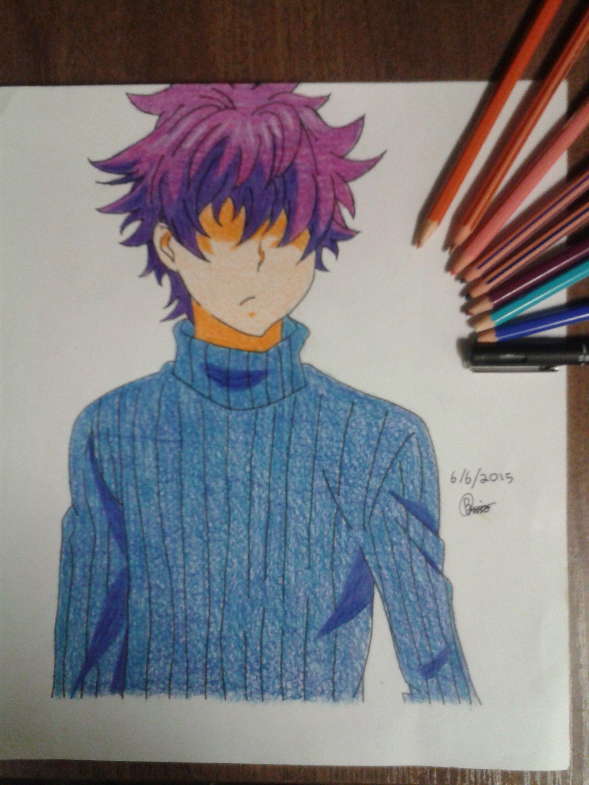 Shun Ibusaki from Shokugeki no Soma Drawing. Anime | Drawings ...