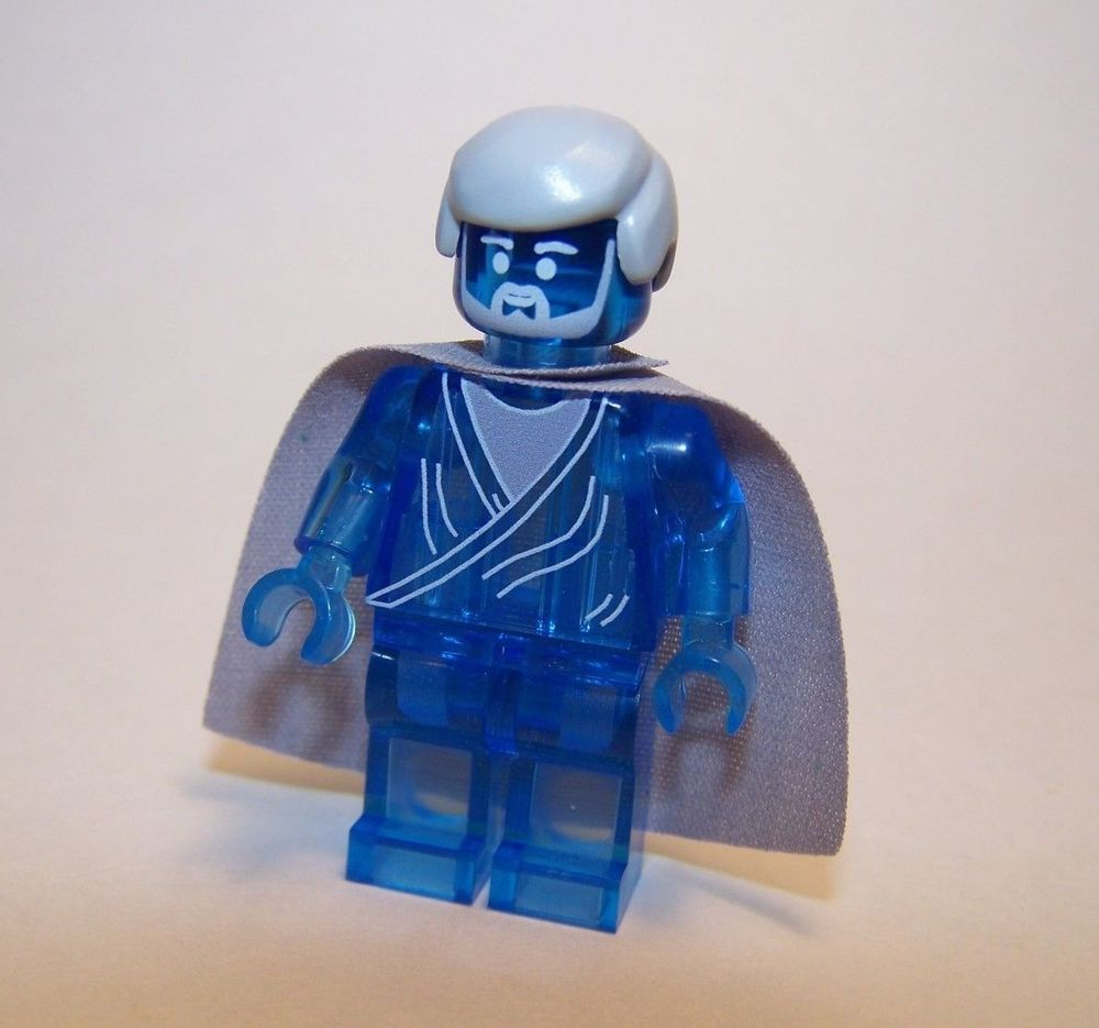 New lego custom printed obi wan kenobi spirit ghost star wars