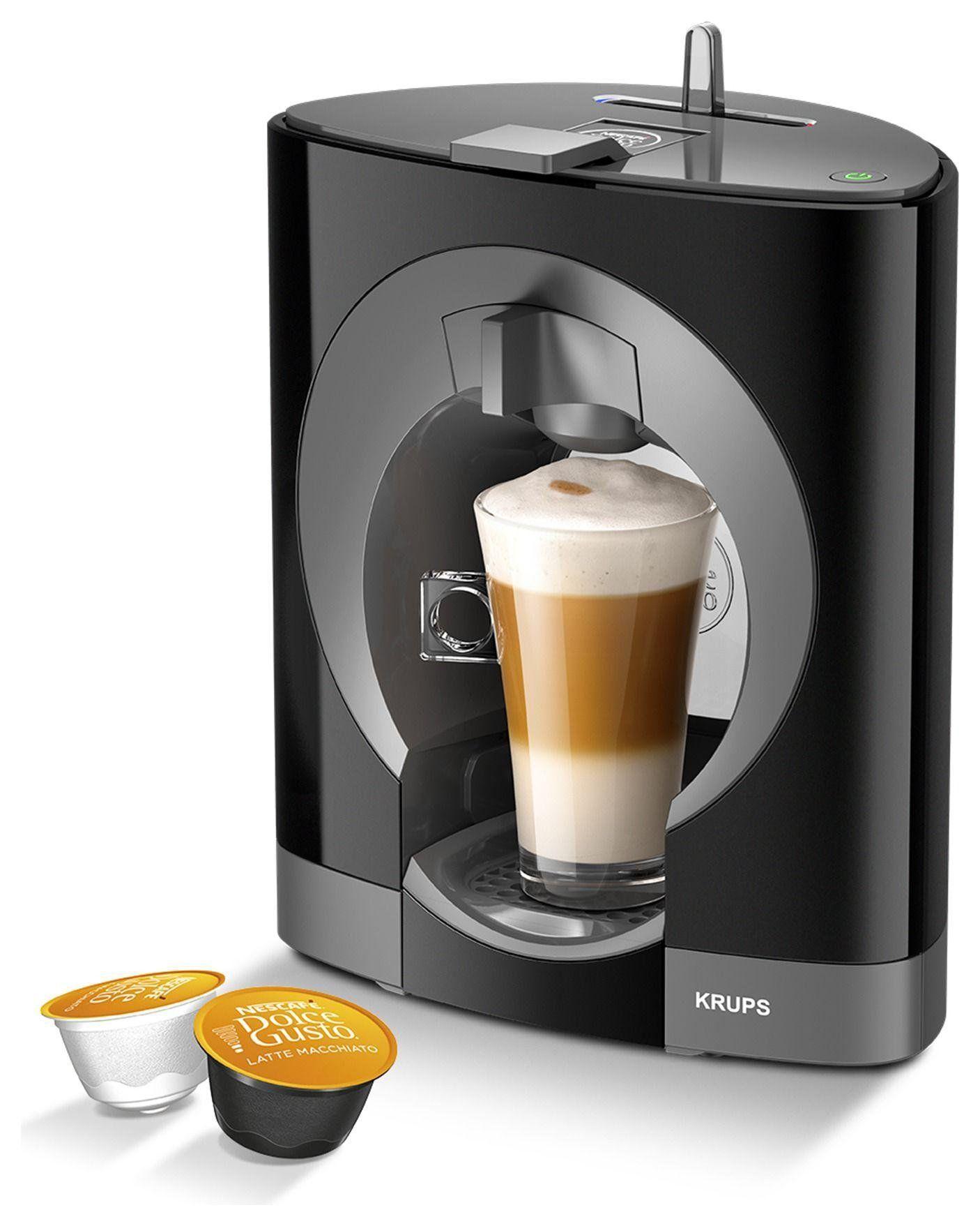 NESCAFE Dolce Gusto Oblo Manual black Coffee Machine