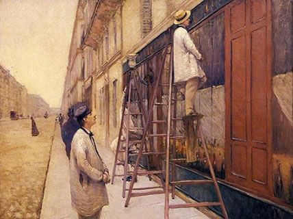 The House Painters, Gustave Caillebotte, 1877
