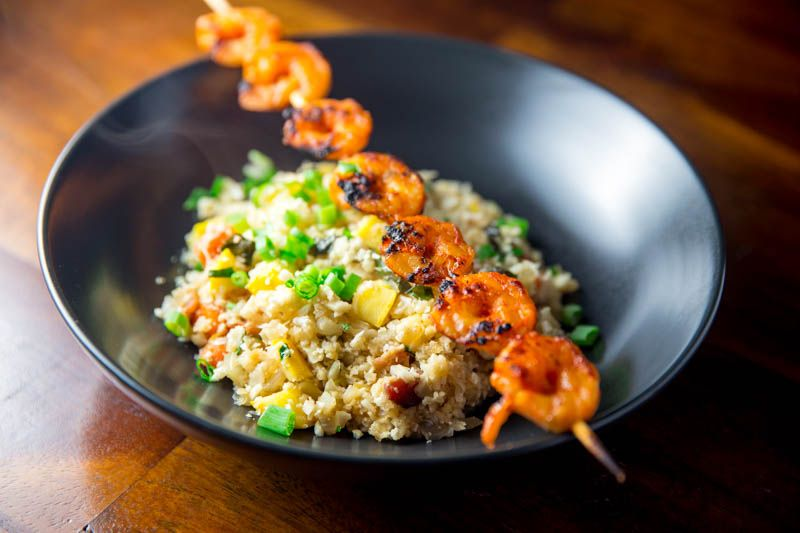 This recipe for Big Green Egg Korean Shrimp Skewers is spicy and delicious. A great quick, easy, and healthy meal to make when reducing carbs.