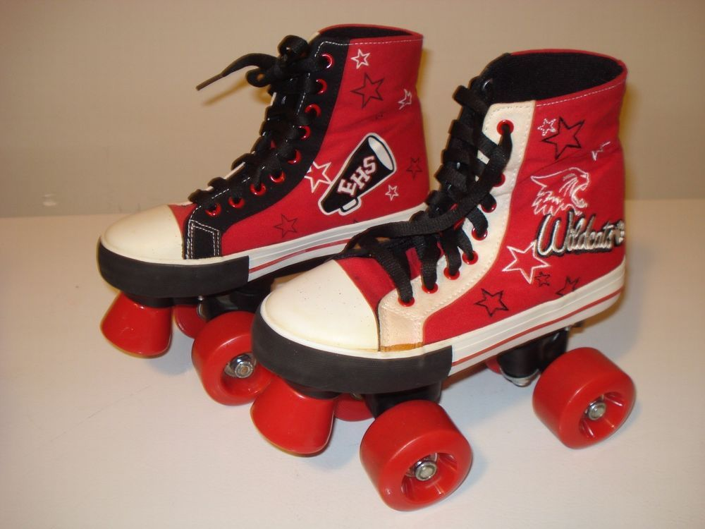 High School Musical High Top Roller Skates Size 1 13 97 Must Have High Tops Roller Skates High School Musical