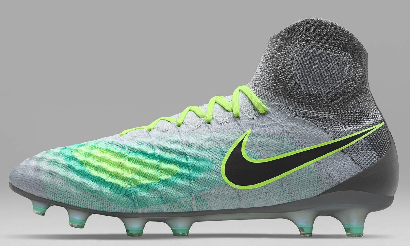 7d56a7893f8c The Pure Platinum Nike Magista Obra II football boots introduce an  understated-yet-bold look for the second-gen Nike Magista cleats
