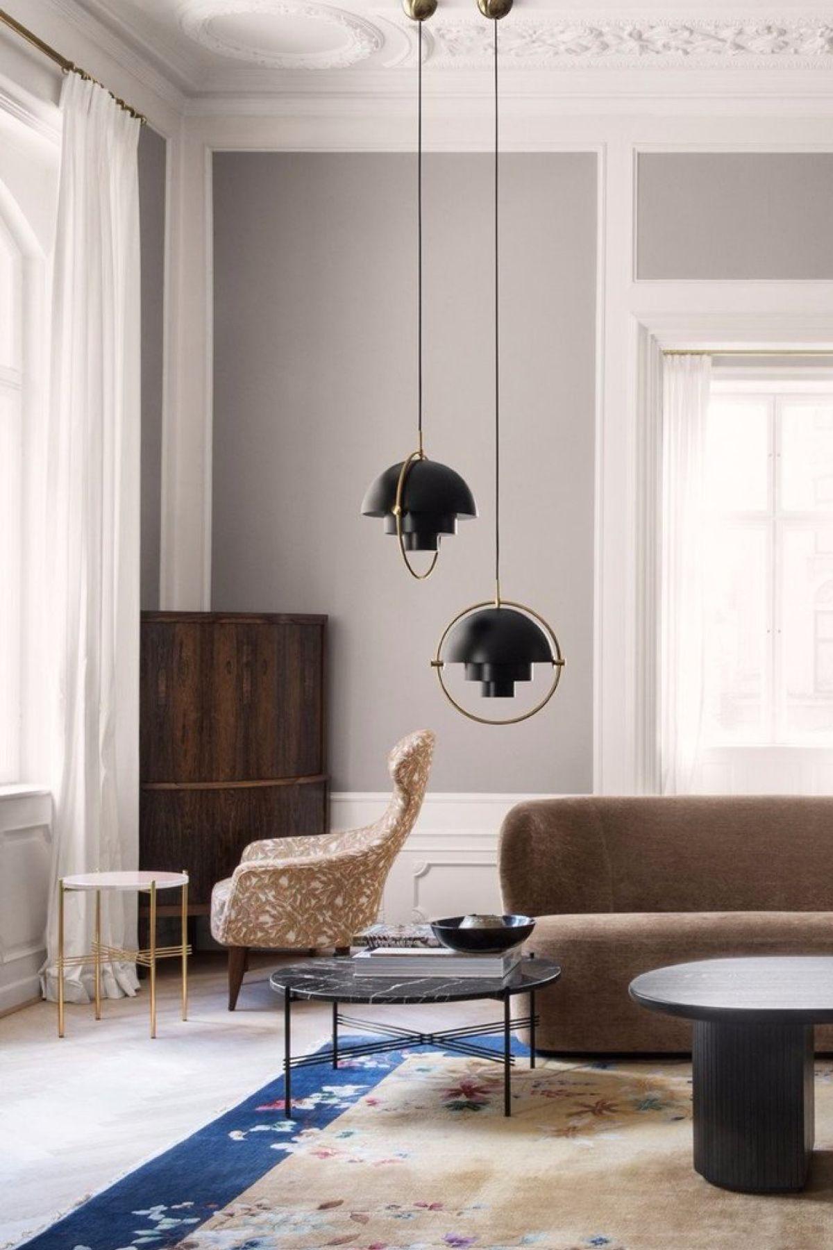 Light Lite Pendant Multi Gubi BlackbrassSource In Furniture 8P0wknXO