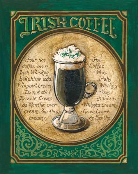 Irish Coffee - YUM!