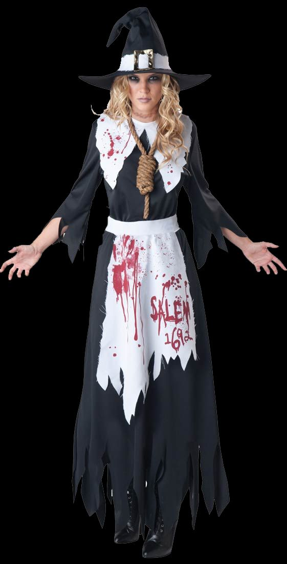 womens salem witch costume with noose halloween city - Salem Witch Halloween Costume