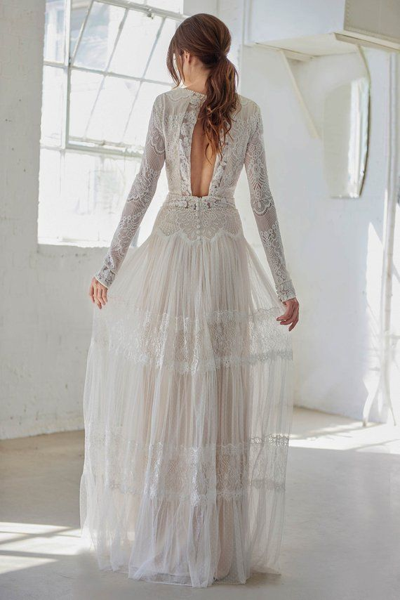 Pin On Boho Wedding Dresses