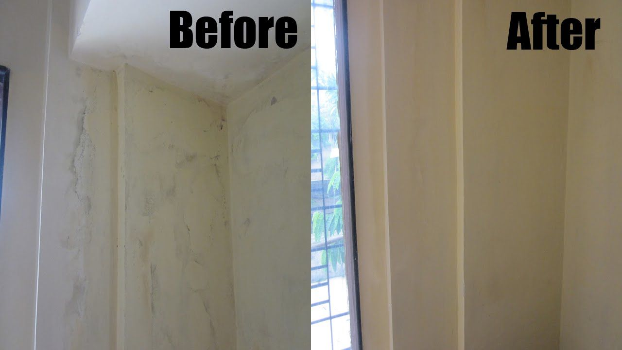 In 18 MINUTES you can clean your black mold wall with home made