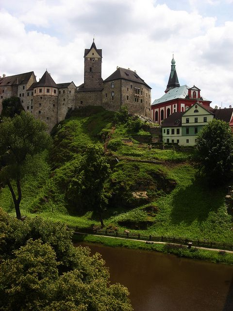 Loket, Czech Republic.
