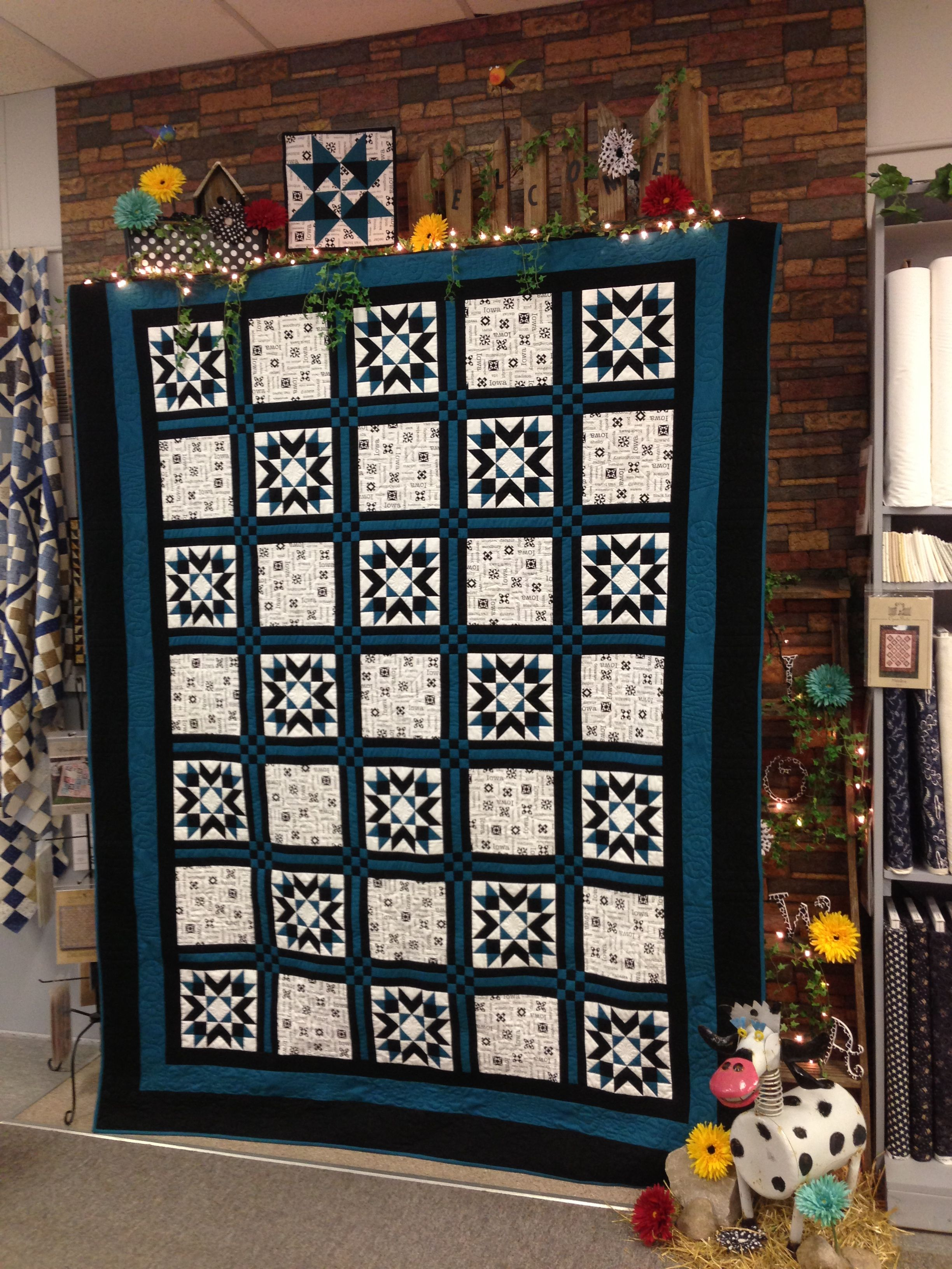 2013 All Iowa Quilt Shop Hop Inspired By Time Quilt Shop Storm Lake Iowa Quilts Decor Storm Lake