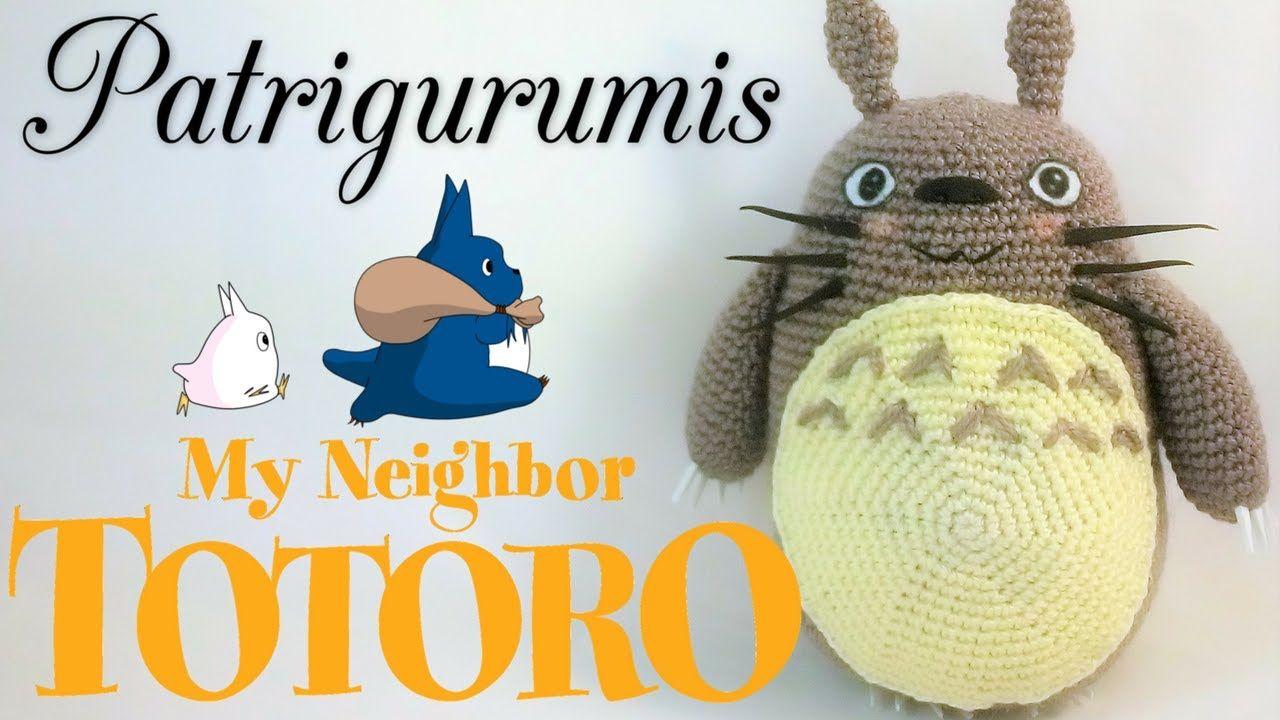 Amigurumi Totoro Receita : Como montar nuestro totoro amigurumi totoro