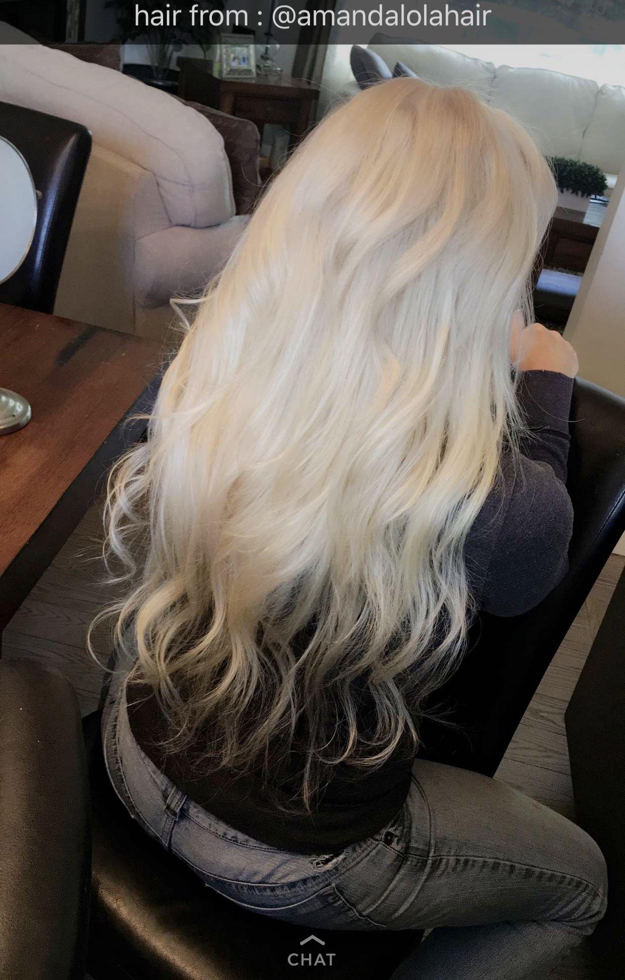 Order 613 Amandalola Hair Fairyblonde Tape In Extensions