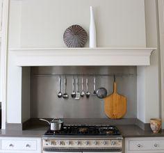 Range Cooker Surround Google Search Kitchen Cooker Kitchen Mantle Kitchen Chimney