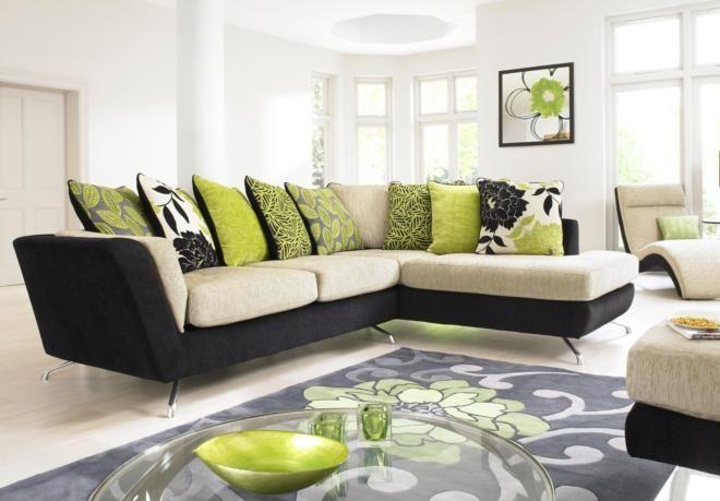 Compact corner chaise sofa city sofa sets corner for Furniture village sofa