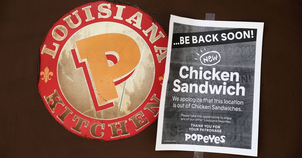 Popeyes Says You Can Have A Chicken Sandwich If You Bring Your Own