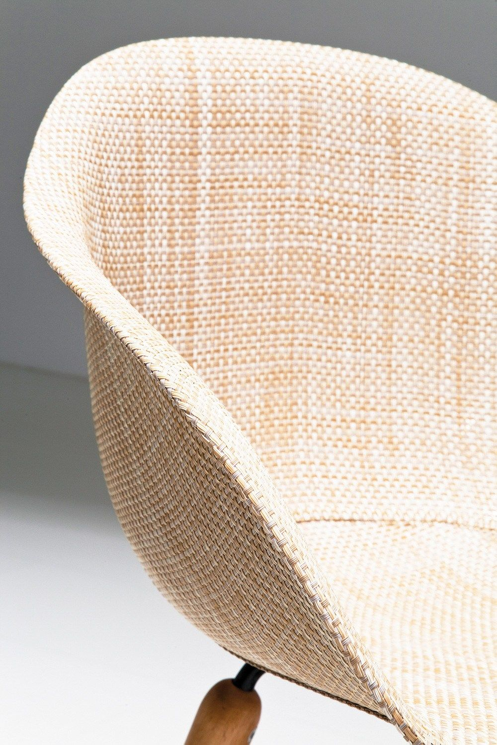 Poltrone Da Giardino In Pvc.Pvc Easy Chair With Armrests Forum Wood Natural By Karedesign