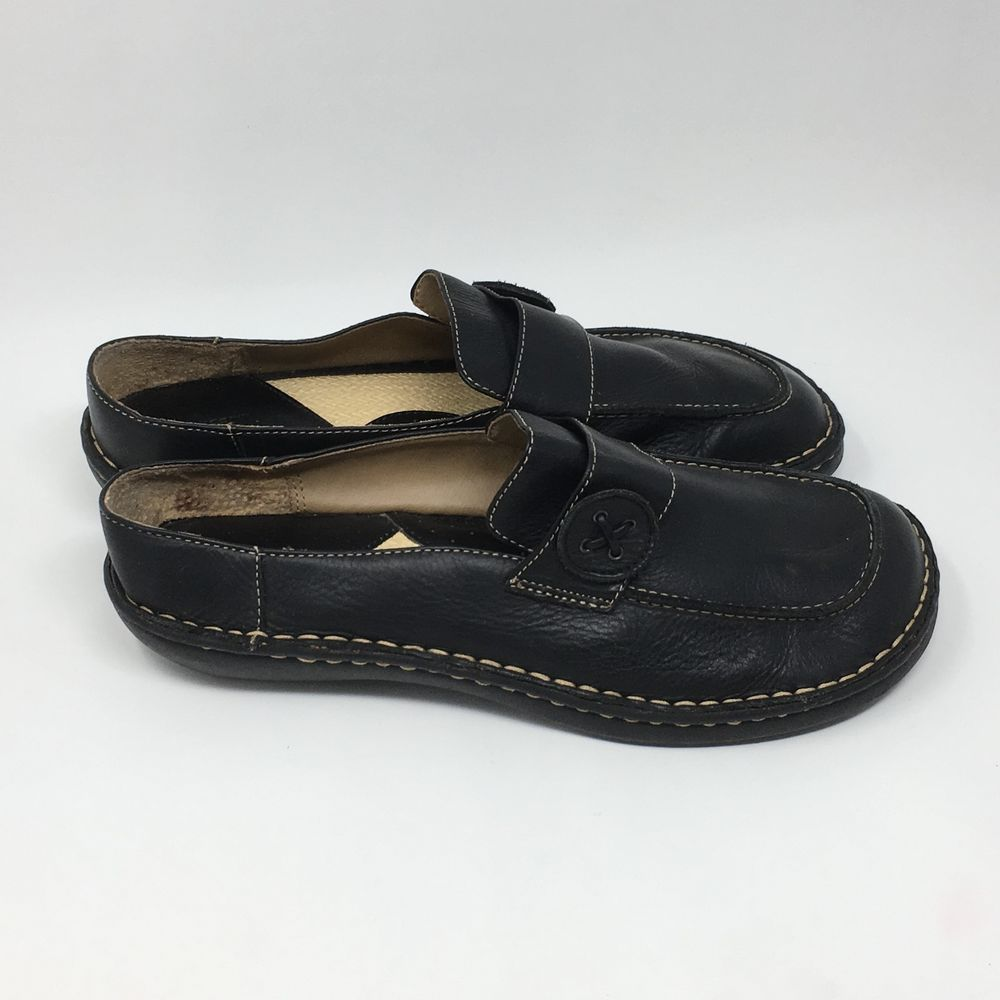 872f5de2fc337 Cherokee Black Leather Mules Women s Comfort Slip On Shoes Size 11  fashion   clothing  shoes  accessories  womensshoes  flats (ebay link)