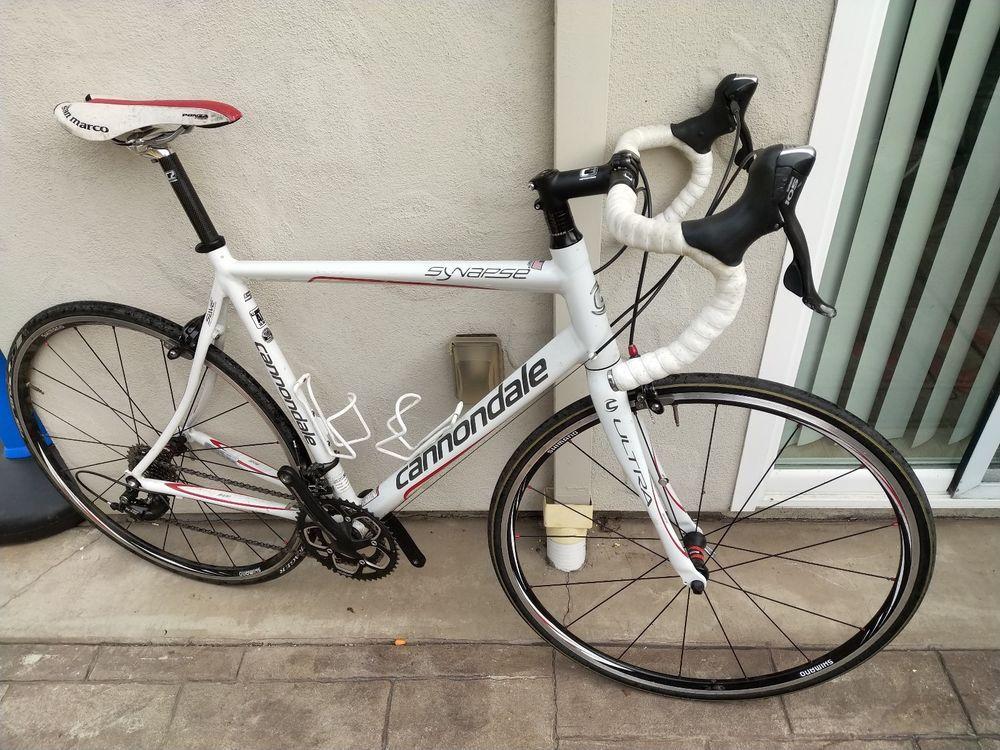 2009 Cannondale Synapse 5 Road Bike Size 56 Rennrad Rad Rennen