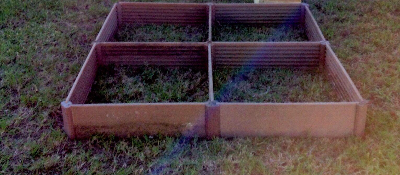 Greenland gardener raised bed garden kit - Greenland Gardener Four Square Raised Bed Garden Kit About 4 5 X 4 5