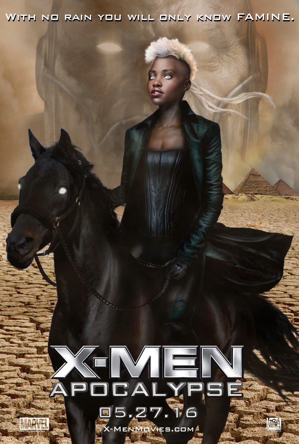 Fanmade X Men Apocalypse Poster Storm As One Of Apocalypses Horsemen