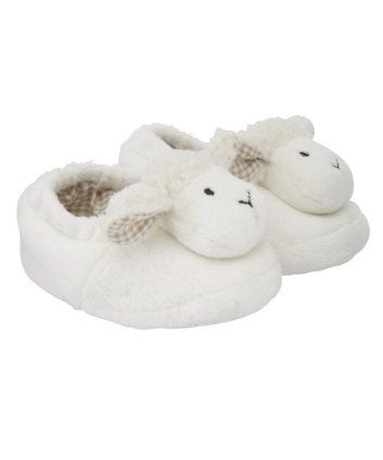 Mothercare Sheep Rattle Slippers