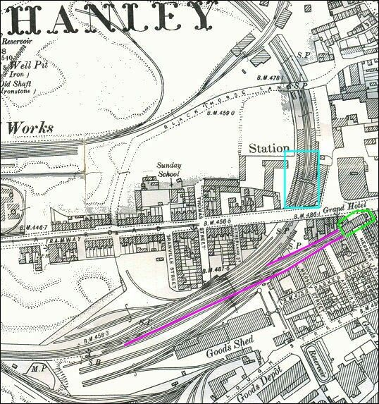 Hanley station StokeonTrent Trains Pinterest City