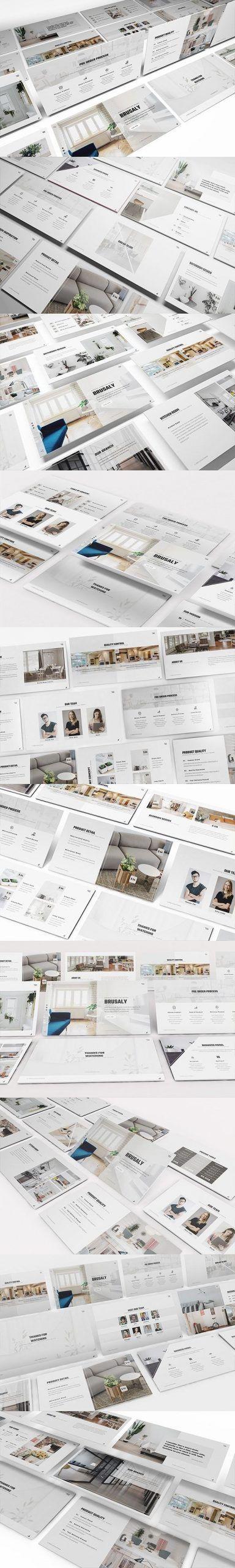 Furniture Keynote Presentation Templatefurniture