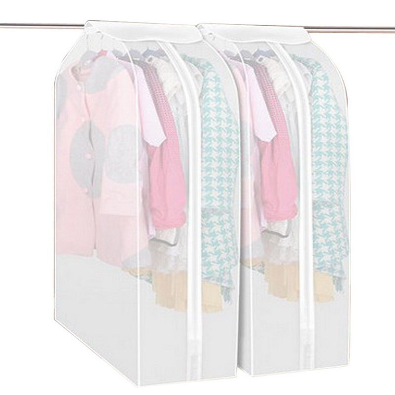 Storage Bag Garment Suit Coat Dust Cover Protector Wardrobe Storage Bag  Garment Bag Vacuum Bags Household