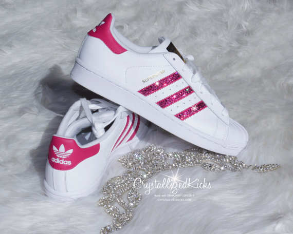adidas superstar rosa weiß